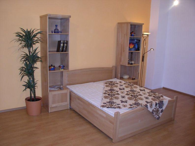schrankbett mit tisch ahorn pravan. Black Bedroom Furniture Sets. Home Design Ideas
